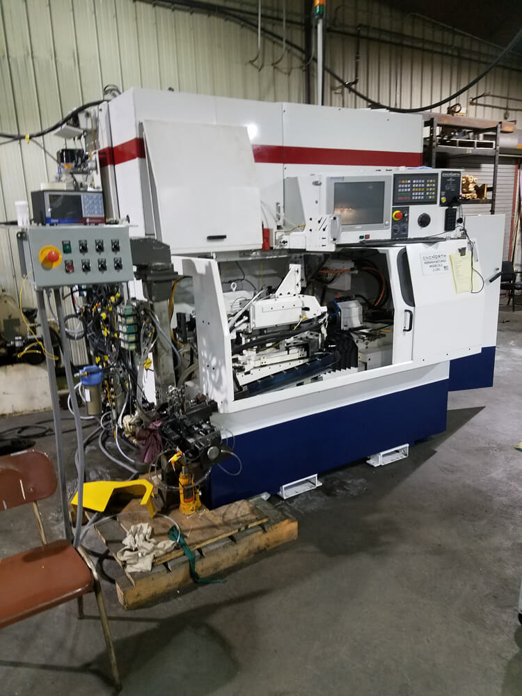 A Custom Engineered CNC North Automation of Process Gaging