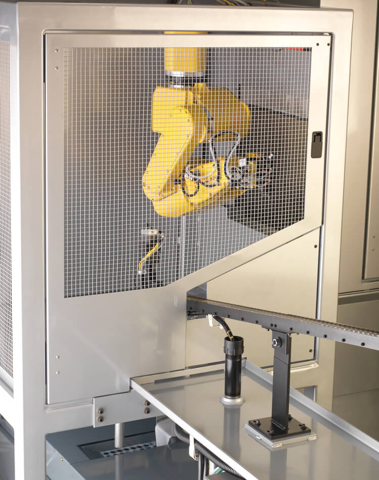 A Custom Engineered CNC North Automation Application Using Fanuc Robot